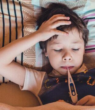 дете с температура