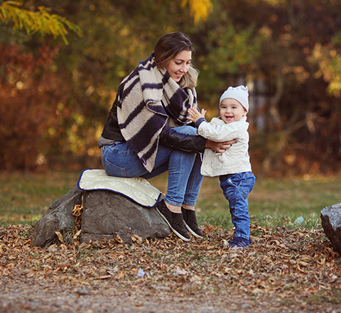 майка и бебе с продукт на Бебетех