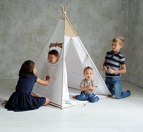 детски палатки за вкъщи