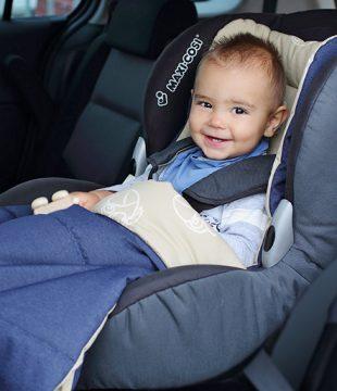 дете в кола