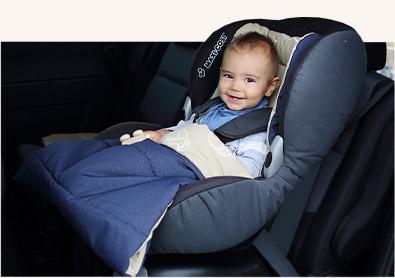 бебе в кола